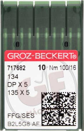 AGULHA DPX5 16 Marca: Groz Beckert / Modelo: DPx5 16