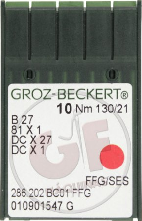 AGULHA DCX27 21 Marca: Groz Beckert / Modelo: DCx27 21