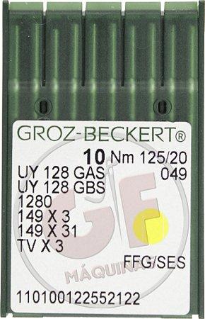 AGULHA UYX128 20 Marca: Groz Beckert / Modelo: UYx128 20