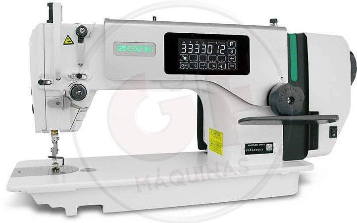 COSTURA RETA ELETRONICA LEVE DD - 5MM SOLENOIDE EMBUTIDO 110V Marca: Zoje / Modelo: ZJ-A8000-D4-TP