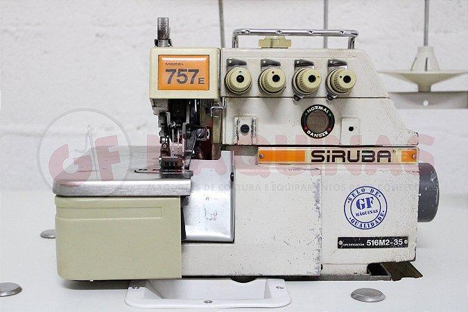 INTERLOQUE 5 FIOS LARGA LEVE - USADO Marca: Siruba / Modelo: 757E-516M2-35