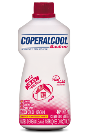 Coperalcool Bacfree 46°INPM Mimo 500ml