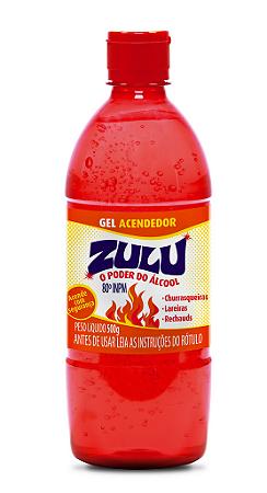 Gel Acendedor Zulu 500g