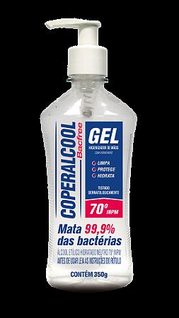 Gel Higienizador de Mãos Coperalcool Bacfree 350g