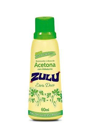 Removedor de Esmalte Zulu Erva Doce 60ml