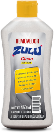 Removedor Zulu Clean 450ml