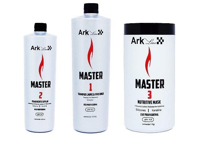 KIT LISO MASTER ARK LINE - ATIVO 500 ML