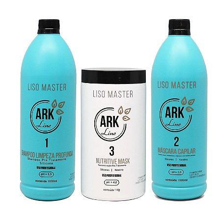 Novo Kit Liso Master - 1 Litro