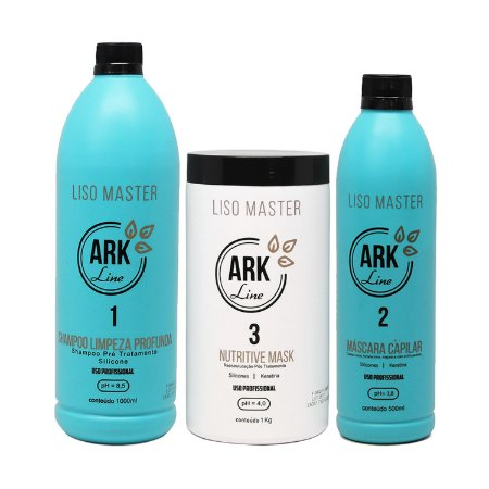 Novo Kit Liso Master - 500 ml
