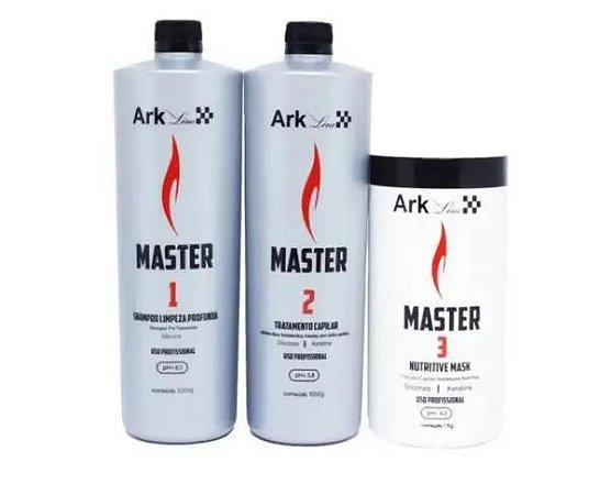 Kit Progressiva Liso Master 1 Litro