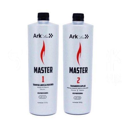 Kit Progressiva Master - Shampoo e ativo passo 2 1 litro cada.