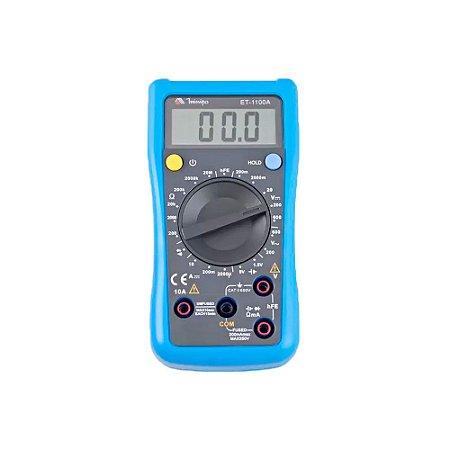 MULTIMETRO DIGITAL CAT II  -  600V  -  MINIPA
