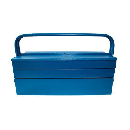 Caixa Sanfonada Azul 5 Gavetas - Fercar