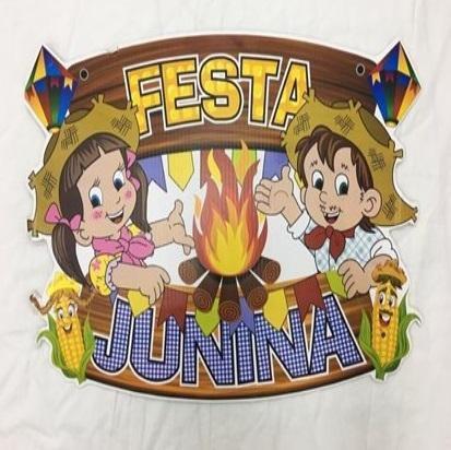 Painel Decorativo Festa Junina Tema Festa Arraiá R.1071 Unidade