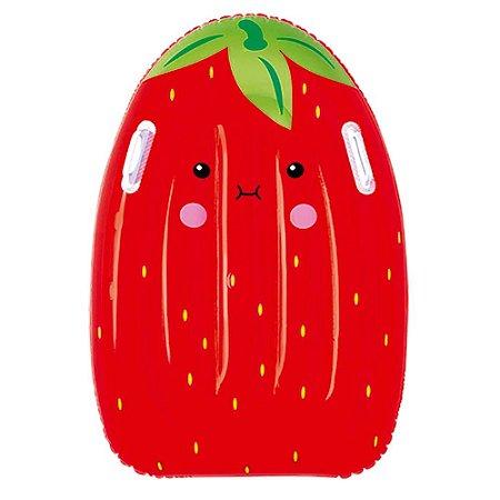 Prancha Inflável Frutinhas Sortidas 52cm Largura x 16cm Altura x 80cm Comprimento Unidade