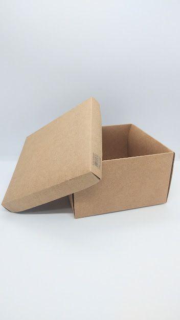 Caixa Duplex Kraft para Presente Tamanho P R.3955 8cm Altura x 13cm Largura Unidade