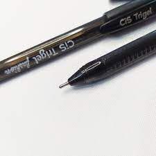Caneta Trigel Fashion Cis Cor Preto 1.0mm Unidade