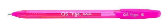 Caneta Trigel Cis Cor Rosa Neon 1.0mm Unidade