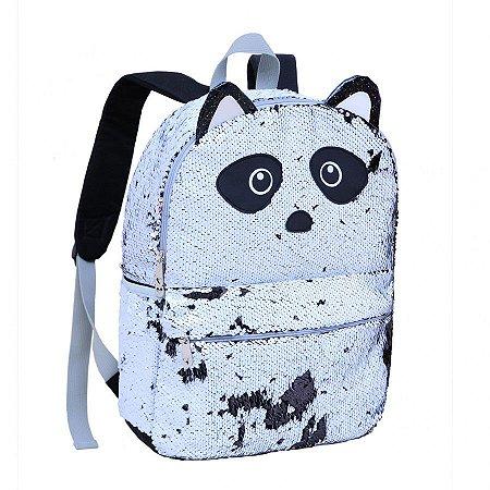 Mochila Clio Panda Com Paetes R.cg2032