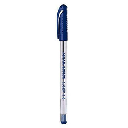 Caneta Esferográfica Jocar Office Glossy Azul 1.0mm R.97680 Unidade