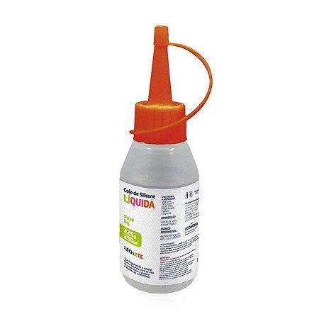 Cola de Silicone Líquida Leonora Dp100 100ml 90 Gramas R.4313 Unidade