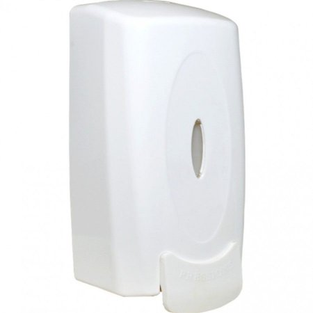 Saboneteira de Plástico Bell Plus Branca Sem Reservatório para Sabonete Líquido e Álcool Em Gel Unidade