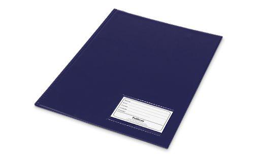 Pasta Catálogo Com Visor Polibrás Azul Com 50 Envelopes R.60309 Unidade