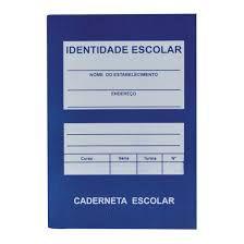 Caderneta Escolar Pacheco Sem Plástico  Unidade R.066