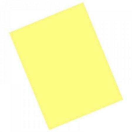 Cartolina Comum Amarela 50cm x 66cm Unidade