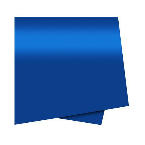 Cartolina Dupla Face Azul 48cm x 66cm Unidade