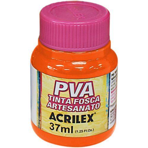 Tinta Plástica Acrilex Pva 37Ml Laranja 032400517