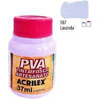 Tinta Plástica Acrilex Pva 37Ml Lavanda R.587