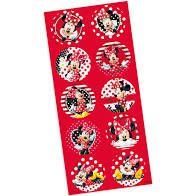 Adesivo Decorativo Redondo Regina Minnie R.95 Com 3