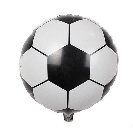 Balao Metalizado Lely Futebol 45Cm Unidade