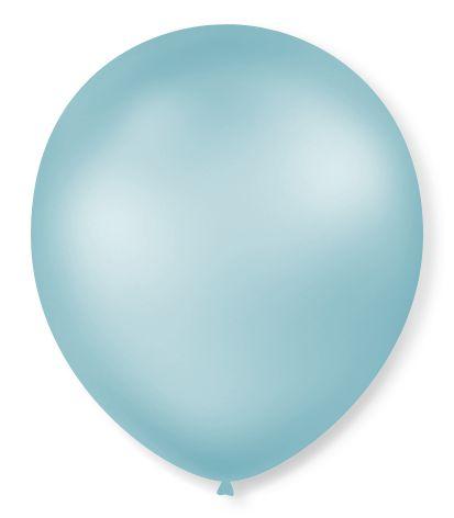 Bola Sao Roque Perolada Azul Claro N7 Com 50
