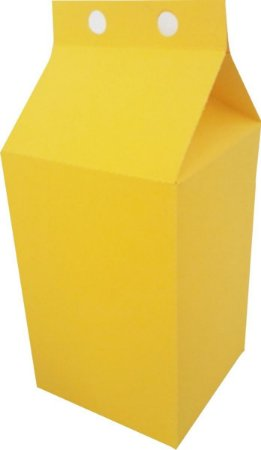 Caixa Lembranca Milk Vivarte Amarelo 17 Centímetros R.2297 Com 6