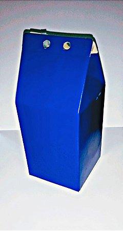 Caixa Lembranca Milk Vivarte Azul Marinho 17 Centímetros R.2301 Com 6