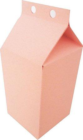 Caixa Lembranca Milk Vivarte Rosa Bebe 17 Centímetros R.2298 Com 6