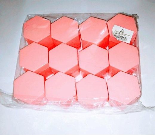 Caixa Sextavada Kriat Rosa Bebe R.12434 Unidade
