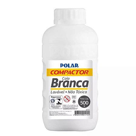 Cola Branca Polar Compactor 500 Gramas - Unidade