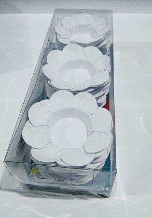 Forminha Decorativa Nb Formas C1 Branco Com 50