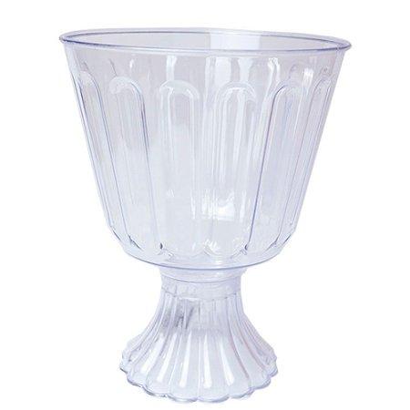 Taça Acrílica Confeiteiro Transparente 1.250 Litros Unidade