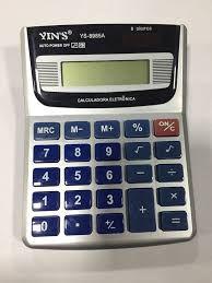Calculadora Eletrônica 8 Dígitos R.8985a Unidade