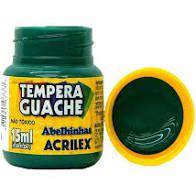 Tinta Guache Acrilex 15ml Verde Bandeira R.020150511 Unidade