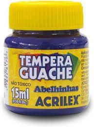 Tinta Guache Acrilex 15ml Violeta r.020150516 Unidade