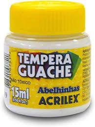 Tinta Guache Acrilex 15ml Branco R.020150519 Unidade