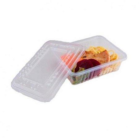 Pote Retangular Freezer/Microondas G306 500ml Unidade