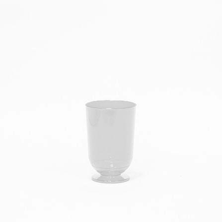 Taça Acrílica Mini Branca 50Ml Pacote Com 10