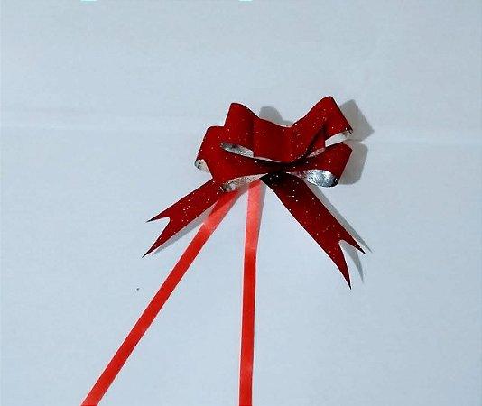 Laco Facil Liso Espiral Vermelho 12Mm R.501