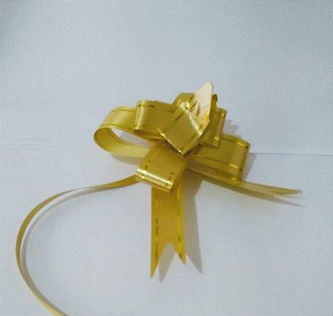 Laço Fácil 18Mm Ouro Com Listra R.254211 Unidade